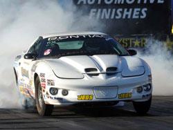 Peter Biondo's Super Stock GT/DA 2000 Pontiac Firebird