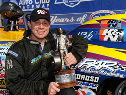 Peter Biondo First NHRA Super Gas Championship Win