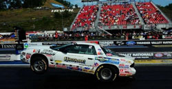 The K&N sponsored racer's final Super Stock round in Bristol leaving the starting line
