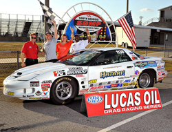 "2015 NHRA Mello Yello Drag Racing season Peter Biondo will drive the Phil Monteith ""Hatari"" Pontiac Firebird"