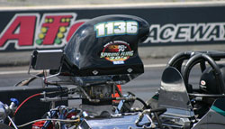 Winning on Sunday Biondo stated that his K&N Filters backed dragster was within thousandths of a second all day long.