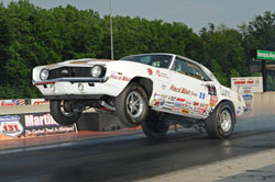 Veldheer's fourth H/CM IHRA World Record came in the same car that set the first three, his trusty 1969 IHRA F/CM-H/CM Camaro.