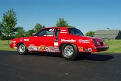 One of Veldheer's three K&N sponsored 455 cars.