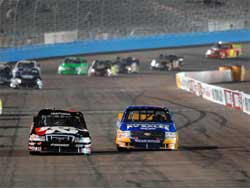 Travis Kvapil started third and finished 23rd at Phoenix