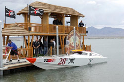 K&N sponsored Pig Iron Racing team won Pacific Offshore Powerboat Racing Association season opener at Lake Havasu City.