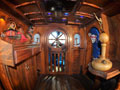 "Custom interior of the ""Pirates of the Caravan"""