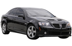 2008 Pontiac G8 with  6.0 liter V8 engine