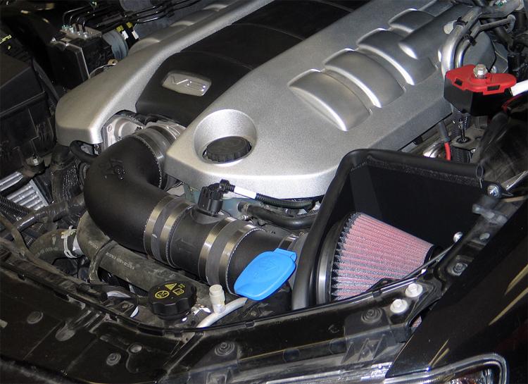 Already Powerful 2008 2009 Pontiac G8 Gt Gains An Additional 11 Hp With K Amp N Air Intake Kit