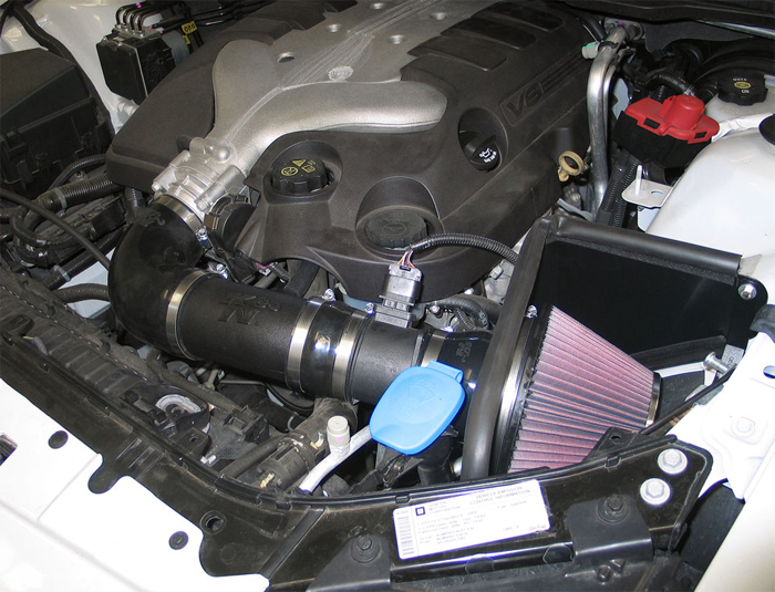 Sporty 2008 Amp 2009 Pontiac G8 V6 Sedan Gains An Extra 10 Hp With K Amp N Air Intake System