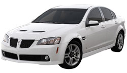 2008 Pontiac G8 with a 3.6 liter V6 engine