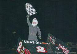 The Devils Bowl win was Walker's first ASCS win of the year.