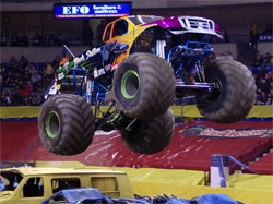 The Monster Spectacular Series at Olympic Stadium in Quebec is one of the best dome shows on the Canadian circuit