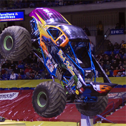 The Black Stallion Monster Truck is in Canada to defend his 2008 Monster Spectacular Champion Title