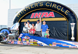 Mopar IHRA Canadian Nationals Win earns Ron Folk a Spot in IHRA Tournament of Champions