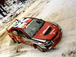 Rally America series driver Andrew Comrie-Picard will run his K&N Rally Car in  the 2008 X Games