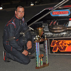 Midget driver Randy Cabral wins 2009 NEMA