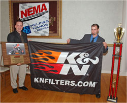 Tim Bertrand and Randy Cabral at 2009 NEMA