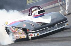 NHRA Super Gas Racer Ray Connolly