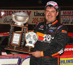"K&N sponsored Ray Cook ""The Tarheel Tiger"" has been racing since 1987, and to date his most memorable moment has been Winning the 2000 Show-Me 100."