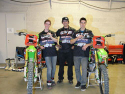 Team MMCR/GPF riders A.J. Catanzaro and Dano Aulseybrook won both Lites West and Lites East Championships.