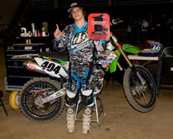 In 2009 team rider Tyler Madalia won the Lites West.