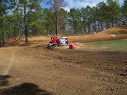 MX Track at the Georgia Practice Facility
