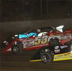 North Carolina dirt racer travels for points in the Lucas Oil Late Model Dirt Series