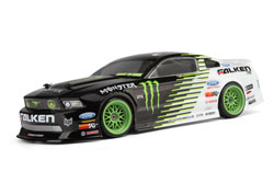 Limited Edition Monster Energy Falken Tire 2011 Ford Mustang GT RTR E10 HPI RC Drift car