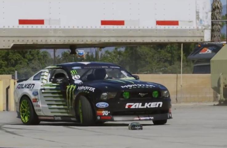 Vaughn Gittin Jr And Rc Drift Car Spread Viral Automotive Video Fever