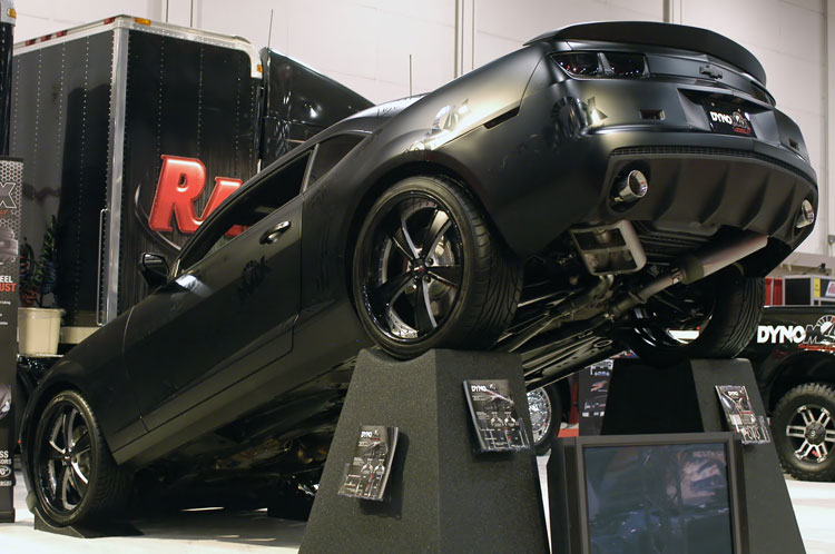 Rch Makes A Bold Appearance At Sema With 2010 Chevy Camaro
