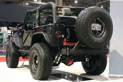 RCH Designs' 2007 Jeep Wrangler at SEMA