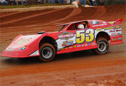 Topless 100 Late Dirt Model Series paid $40,000 in Locust Grove, Arkansas
