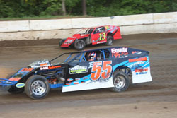 Any bad luck that the RCS Motorsports team has experienced in the past was exorcised at the tracks recent reopening when Chad Sellars handily took the feature win.