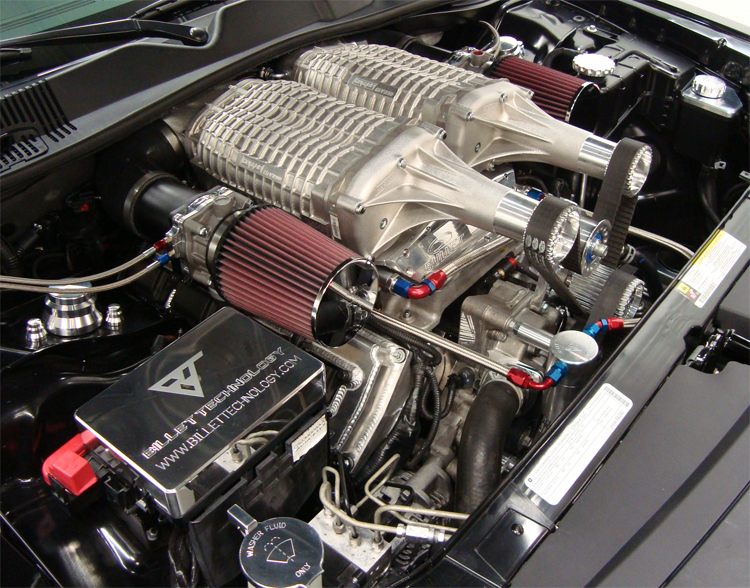 Performance 2009 Twin Supercharger Dodge Challenger By