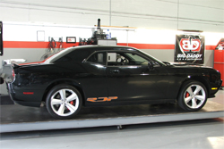 2009 twin supercharger Challenger made it's debut at PRI Show in Orlando, Florida