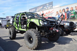 Roco 4x4's Nissan Xterra at the 2011 SEMA Show
