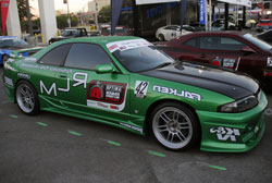 RLM wanted to keep the factory look of this 1995 Nissan Skyline R33 for SEMA 2012, because they are so rare
