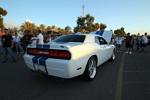 Even from behind, Reginald Heidemann's 2011 Dodge Challengar demands attention