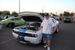Reginald Heidemann and his 2011 Dodge Challengar