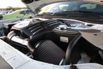 Close up of the K&N Air Intake installed on Reginald Heidemann's 2011 Dodge Challengar