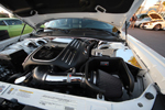Look at all that chrome on Reginald Heidemann's 2011 Dodge Challengar