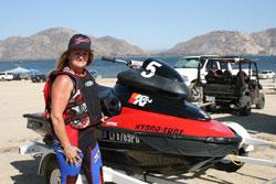 World-class watercraft racer Renee Hill is looking forward to World Finals in Lake Havasu.