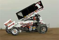 Sprint car driver Randy Hannagan hopes to take home $150,000 purse and bragging rights at the Knoxville Nationals