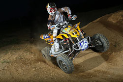 Richard Pelchat has been racing ATV's for 10 years - Photo by Harlen Foley