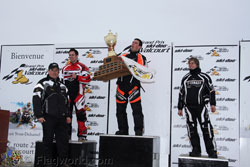 Richard Pelchat Wins Grand Prix de Valcourt ATV Ice Race on his Can-Am DS450