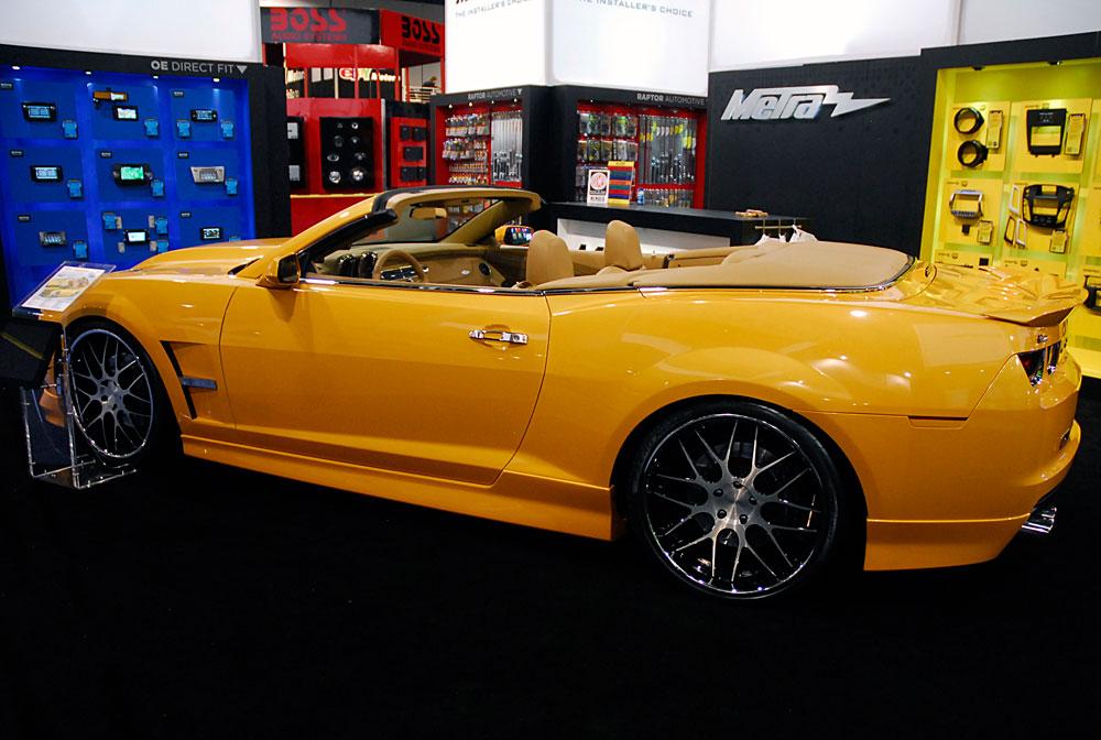 Rick Bottom Shows 806 Horsepower Chevy Camaro Convertible 2SSRS