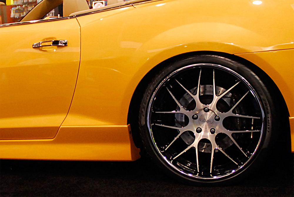 rick bottom shows 806 horsepower chevy camaro convertible 2ss rs at sema