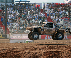 Roller Coaster weekend of ups and downs for LOORRS Super Lite Truck Off Road Racer Ricky James
