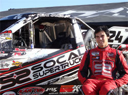 Ricky James is ready to capture a $20,000 purse in the Rockstar Energy Lucas Oil Challenge Cup at the Lake Elsinore Motorsports Complex in December