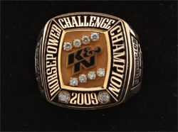 K&N Horsepower Challenge Championship Ring for winning Pro Stock Driver in Norwalk, Ohio